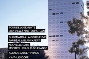 En couverture : TOUR DE LOGEMENTS 360° VIEW À NANTES PAR LAN © JULIEN LANOO