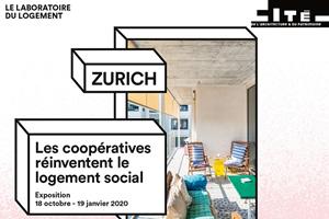 Mehr als Wohnen, bâtiment M. Hunziker Areal, Zurich. Architecture: Duplex Architekten. © Johannes Marburg – création graphique : FORMABOOM