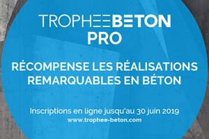 © Trophée béton - Réalisation graphique : temaprod