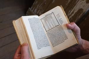 Vitruvius iterum..., Giovano Giocondo, Florence, 1513. Photo André Cepeda